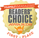 Readers Choice Hawaii Magazine 2015