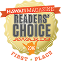 Readers Choice Hawaii Magazine 2016