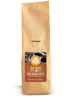 Kauai Coffee Estate Reserve Sun Dried Acaia