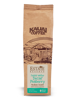Kauai Swiss Water Decaf - Peaberry