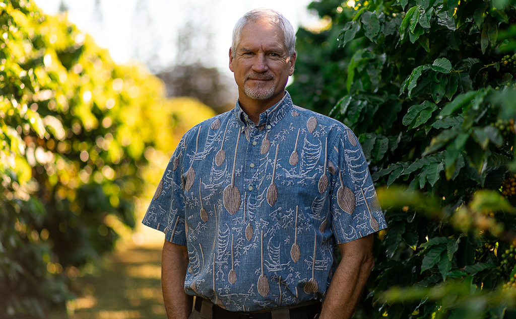 Kauai Coffee General Manager Fred Cowell