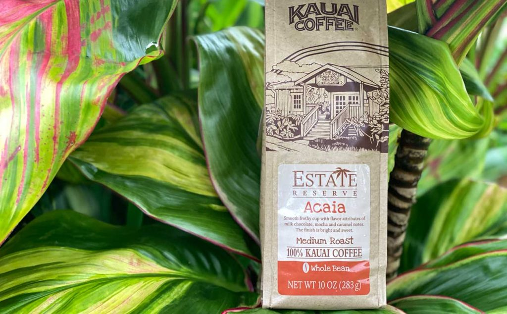 Kauai Coffee Acaia is a unique and delicious variety