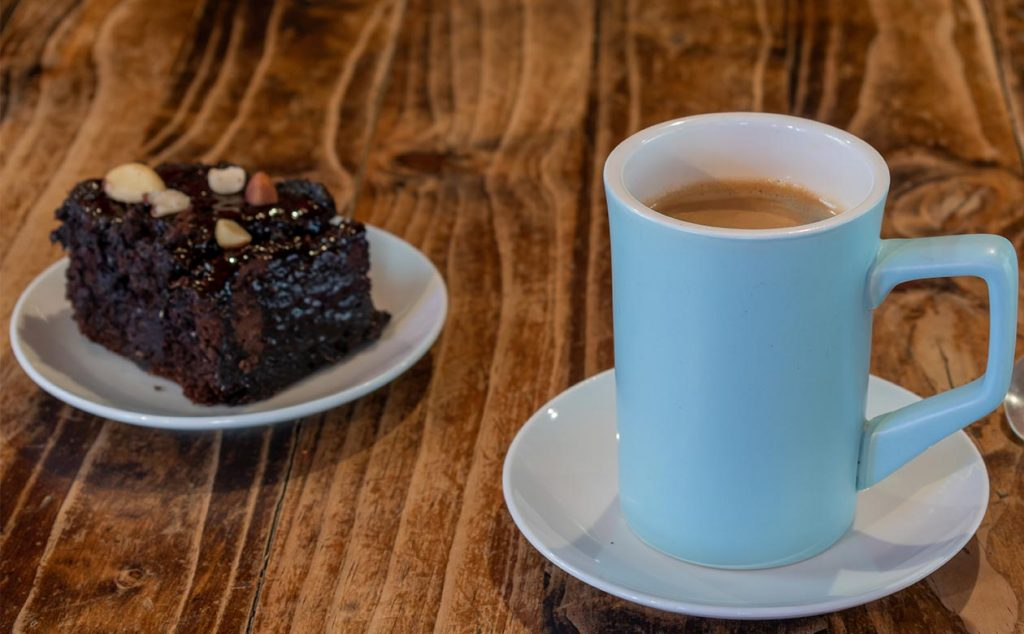kauai coffee and dessert pairings brownies