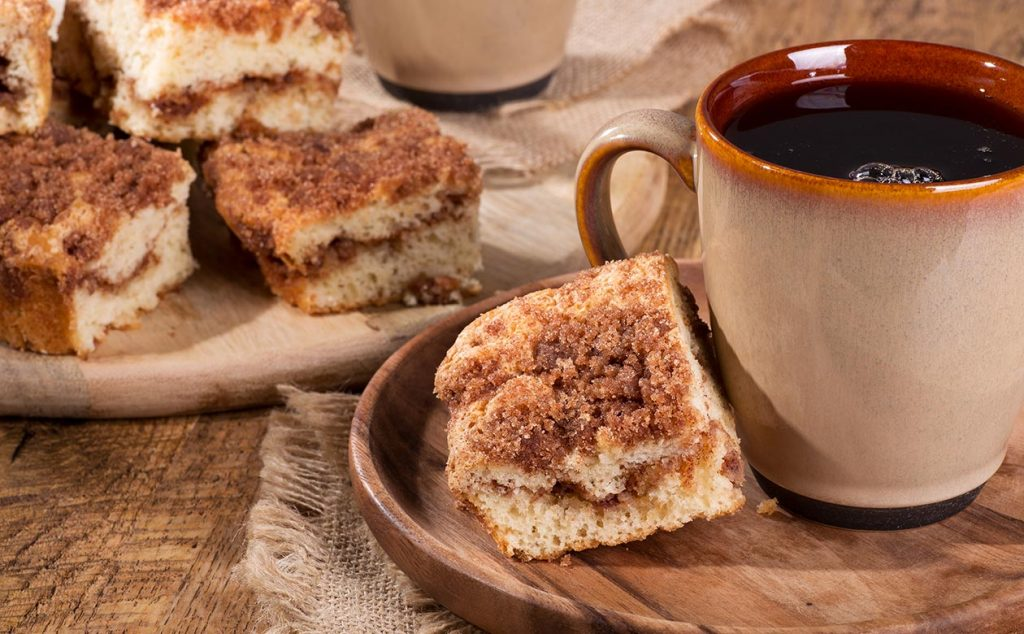 kauai coffee and dessert pairings crumb cake