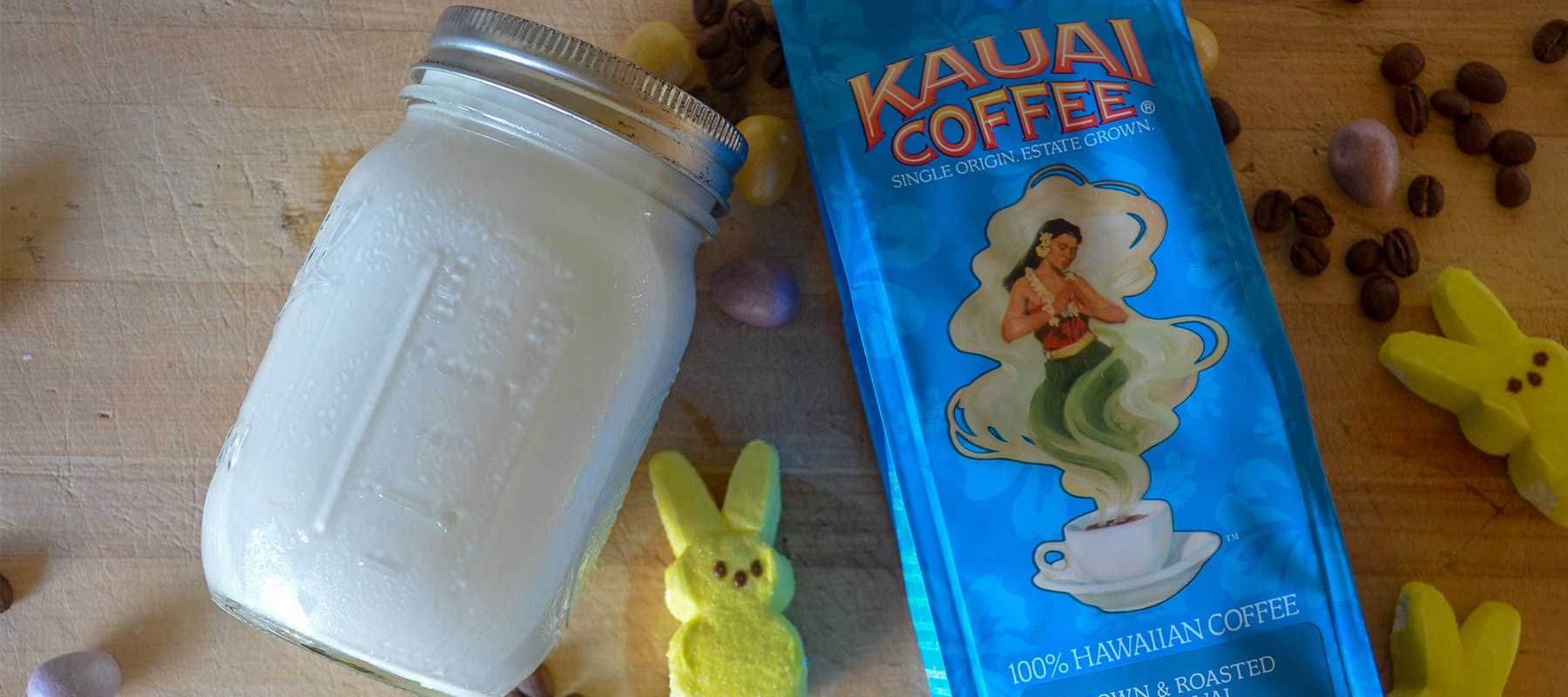 Marshmallow Coconut Coffee Creamer Recipe