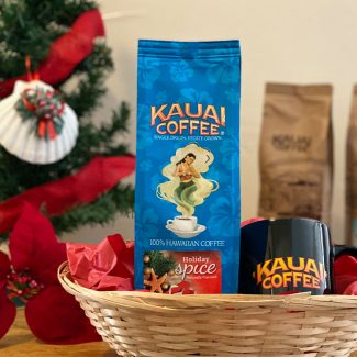 kauai coffee holiday coffee gift set for coffee drinkers