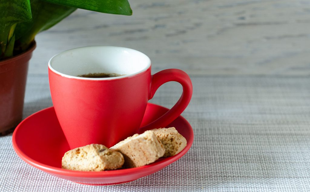 gingerbread biscotti makes a great holiday treat. Pair with your favorite kauai coffee to enjoy