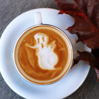 Kauai Coffee can be used to make many Halloween-themed drinks and deserts.