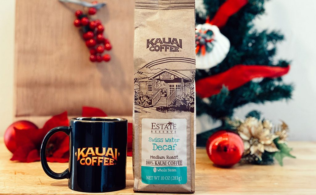 Kauai Coffee Swiss Water Decaf is a great gift for coffee drinkers