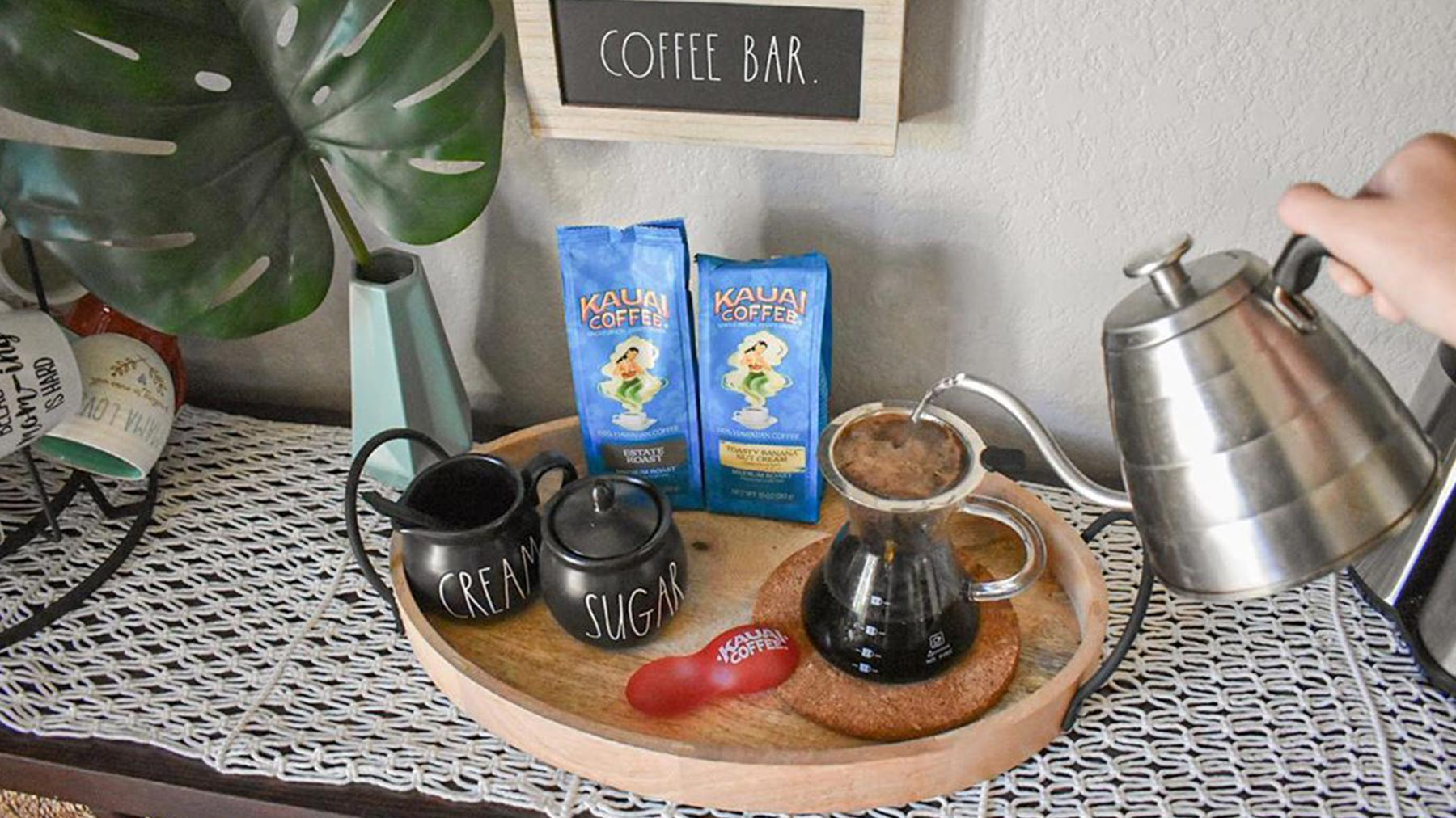 At Home Coffee Station Inspiration