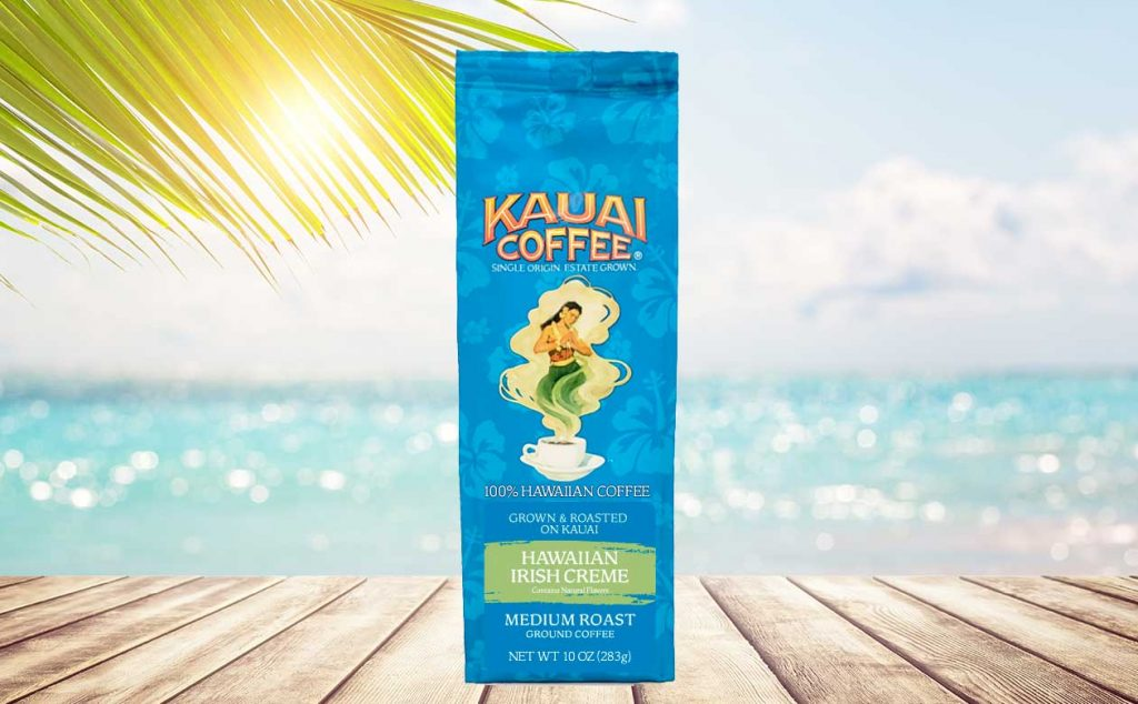 Kauai Coffee Hawaiian Irish Creme is back for a limited time!