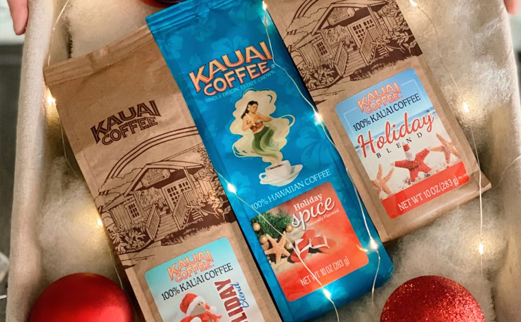 Stock up and save. When you buy 5 blue bags of 100% Kauai Coffee you get the 6th free!