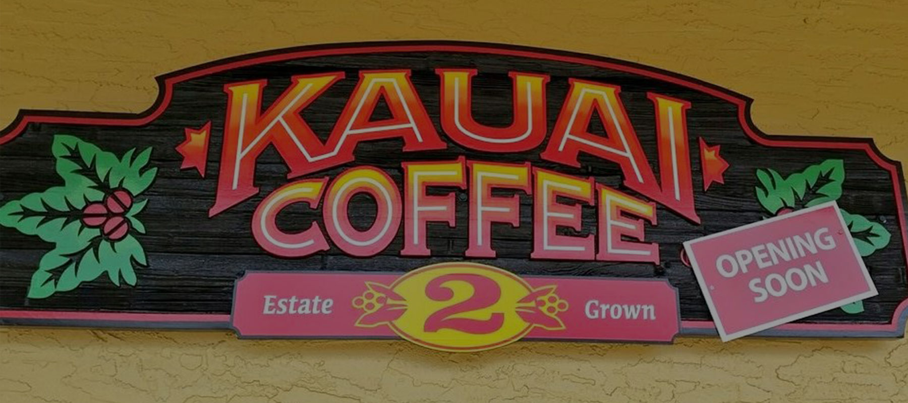 Kauai Coffee 2 retail store in Kapaa, Kauai