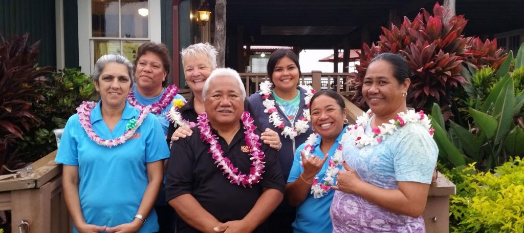 Kauai Coffee Visitors Center and Store Staff