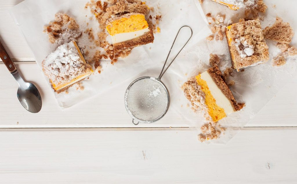 Kauai Coffee and dessert pairings - pumpkin crunch