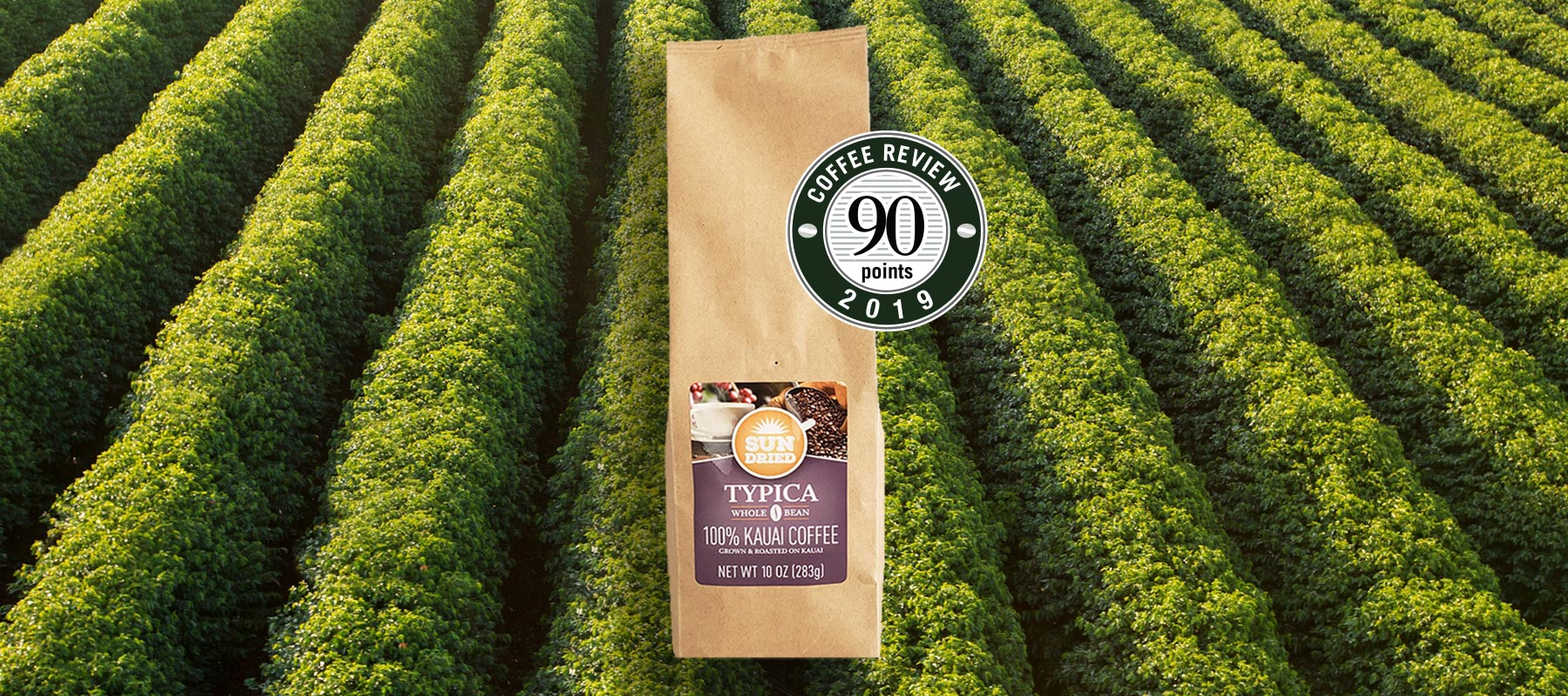 Sun Dried Typica Receives 90-Point Score from Coffee Review!